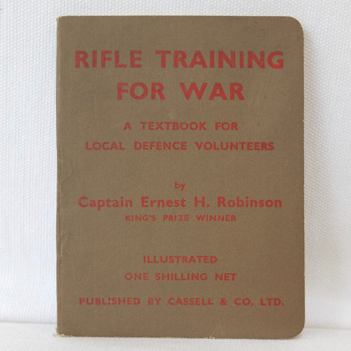 Rifle Training For War (1940) | Compass Library