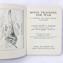 WW2 Rifle Training Manual | Compass Library