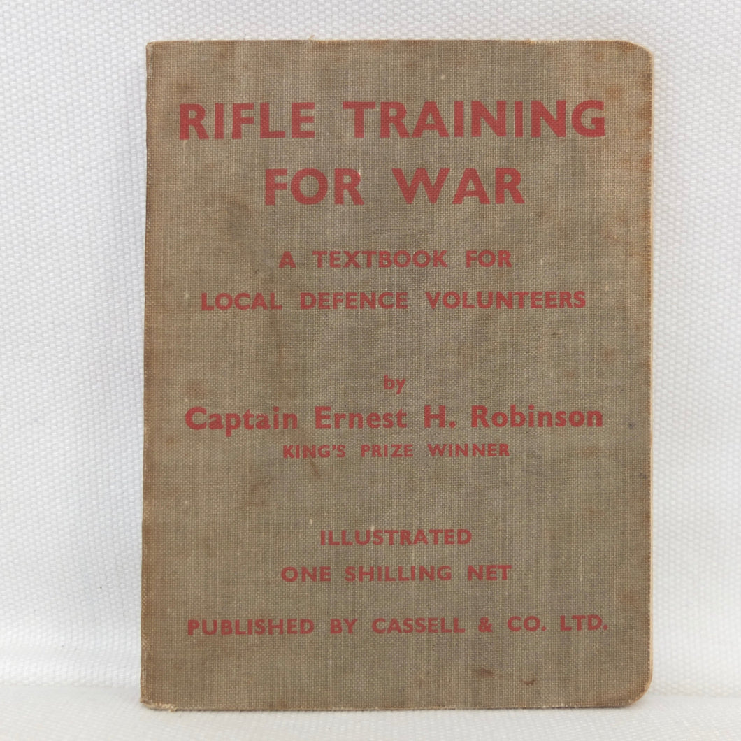 Rifle Training For War (1940) | Spike Milligan's copy