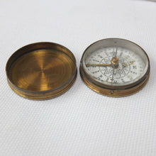 Ross & Co. Brass Box Pocket Compass
