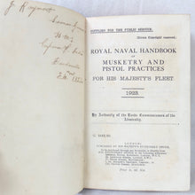 Royal Naval Handbook of Musketry (1923) | HMS Emperor of India