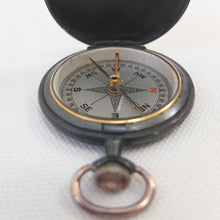 Francis Barker Shallow Hunter Pocket Compass c.1890 | Compass Library