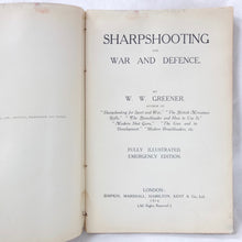 Sharpshooting for War and Defence (1914)