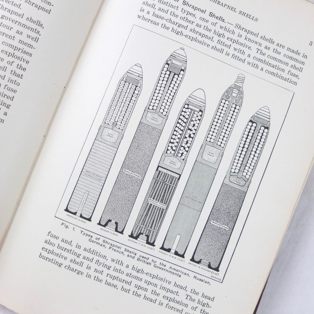 WW1 Shrapnel Shells manual (1915) | Compass Library