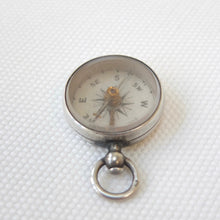 Victorian Silver Compass | Lewis Nightingale, London, 1897