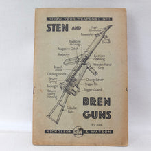 WW2 Sten and Bren Gun Manual (1942)