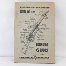 WW2 Sten and Bren Gun Manual (1942) Compass Library