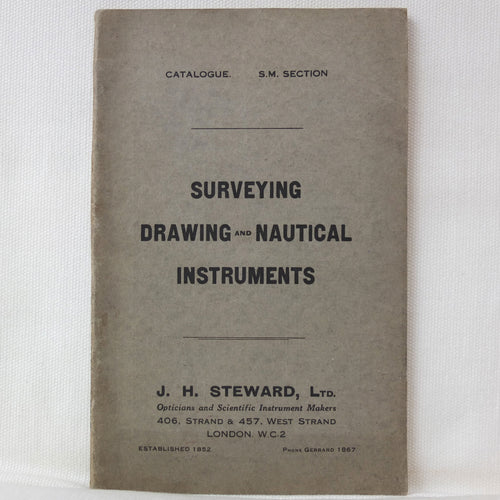 J. H. Steward Ltd, Scientific Instruments Catalogue