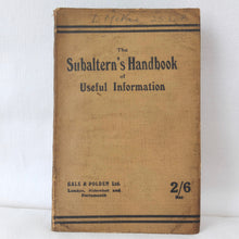 WW1 Trench Warfare Manual (1918) | Subaltern's Handbook