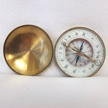 Victorian Pocket Sundial Compass c.1880 | Compass Library