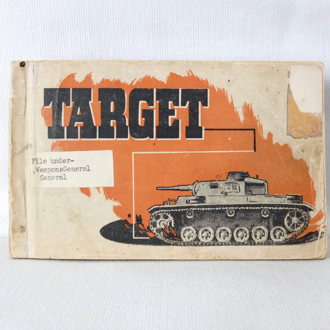Target | 8th Army Tank AFV Recognition Manual (1942)