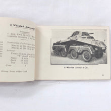 WW2 North Africa Tank Recognition manual (1942)