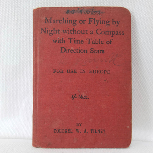 Marching or Flying By Night (1915)