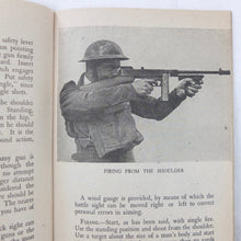 WW2 Thompson machine Gun Manual | Compass Library