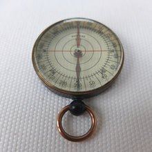 Transparent Pocket Compass | English c.1920