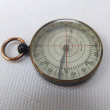 English Transparent Pocket Compass