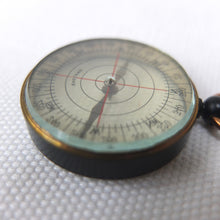 Antique English Pocket Compass |  Transparent c.1920
