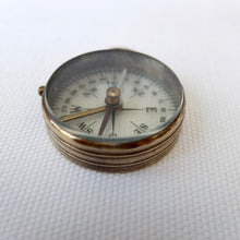 Vintage Transparent Pocket Compass