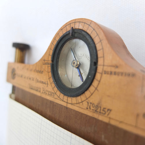 Verner's Patent Cavalry Sketching Board Compass (1900)