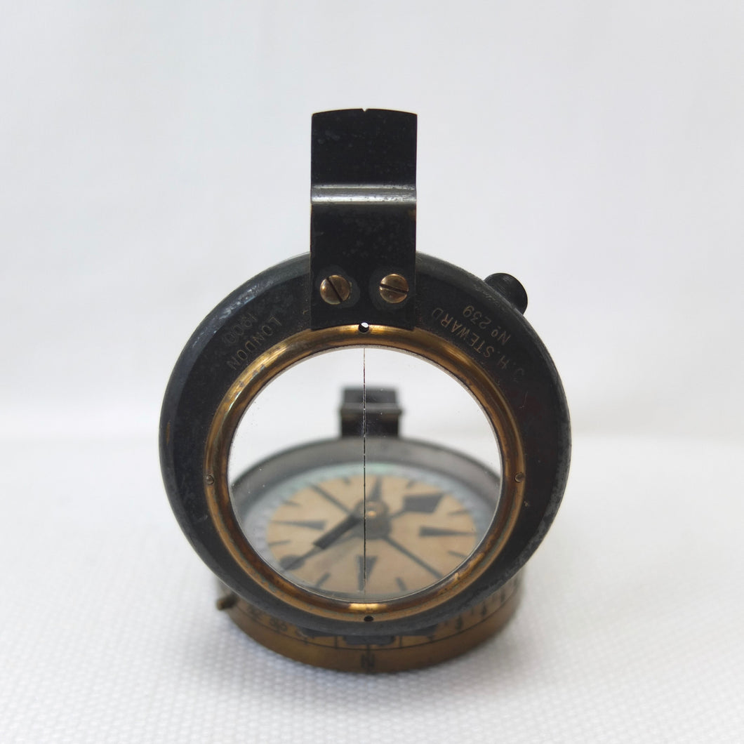 'Out of Africa' J. H. Steward Verner's Military compass (1900)