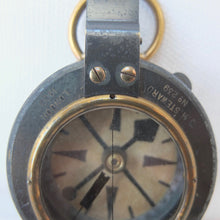 J. H. Steward, London, WW1 Verners Military compass