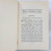 H. H. Munro ('Saki')  | When William Came