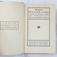 H. H. Munro ('Saki') | When William Came (1914) | Compass Library