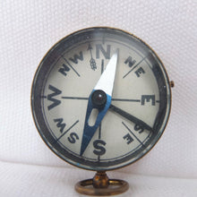 Brass Cased Pocket Compass c.1900