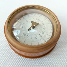 Georgian or Victorian Wooden Sundial Compass c.1840