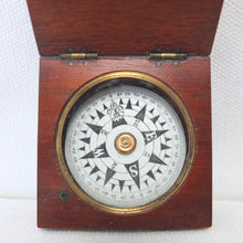 Francis Barker Wooden Compass c.1860 | Compass Library
