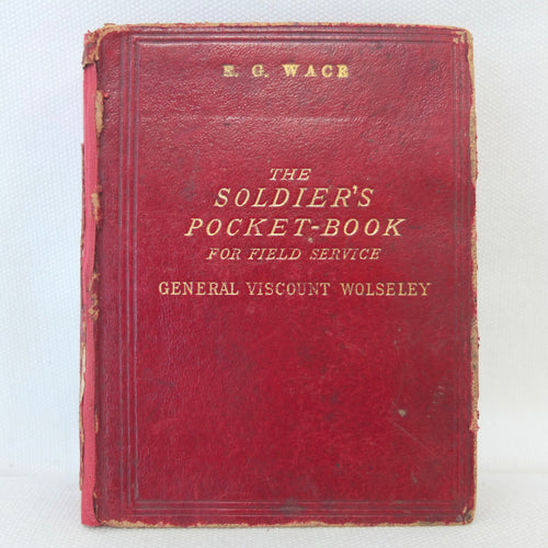 The Soldiers Pocket Book (1886) | General Wolseley