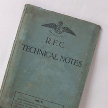 Royal Flying Corps Technical Notes