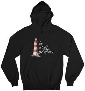 be a light for others - Basic Hoodie