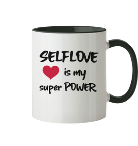 SELFLOVE is my super POWER - Tasse