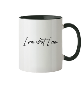 I am what I am - Tasse