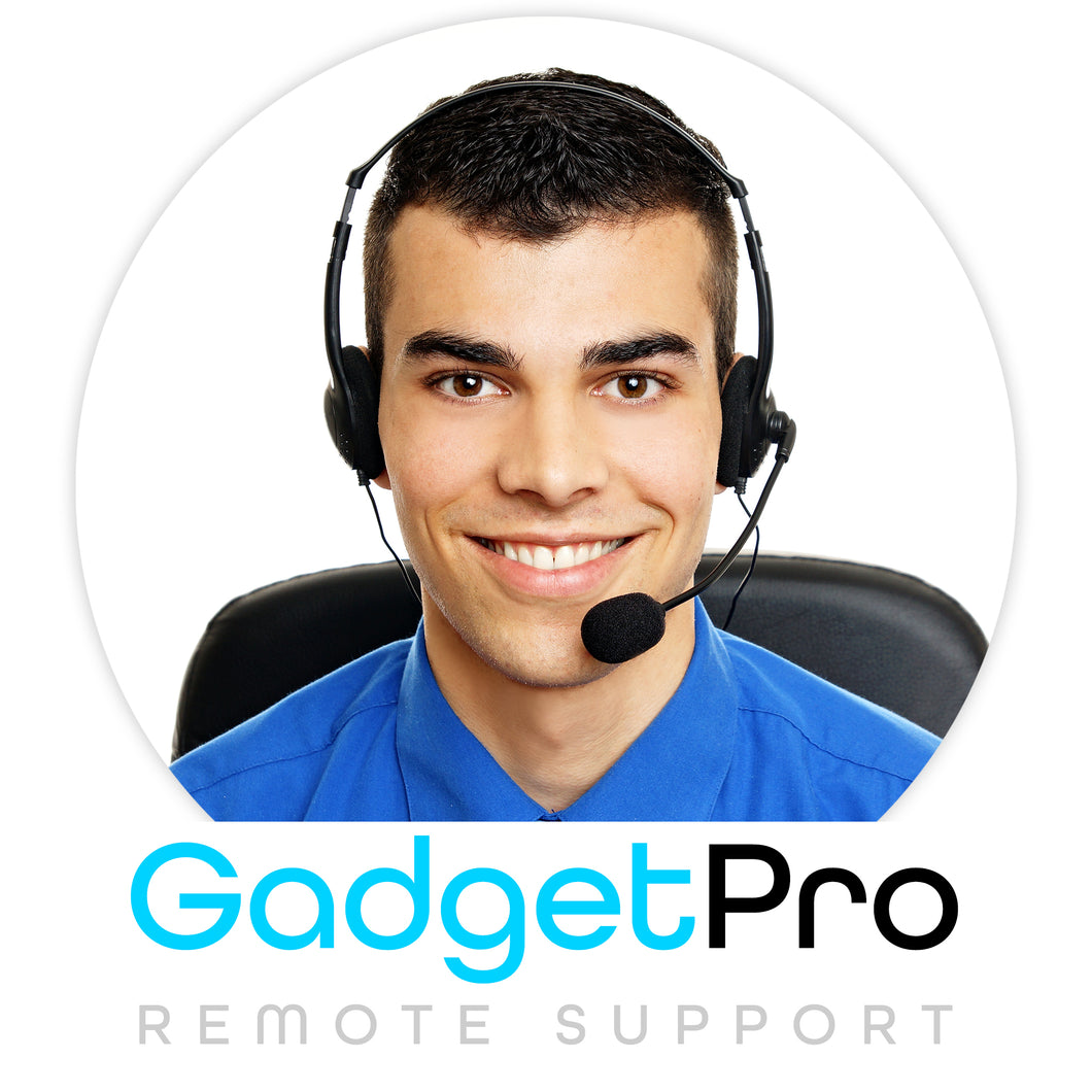 Gadget Pro Remote Support (60 minute session)
