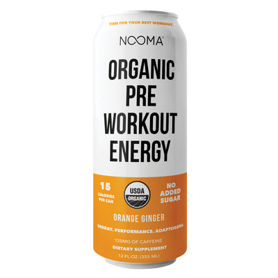 Orange Ginger <br>Pre-Workout <br>(12-Drink Case)