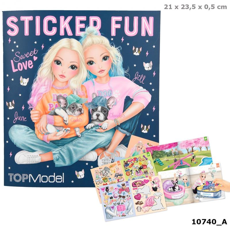 Top Model - Sticker Fun