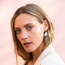 Load image into Gallery viewer, Joma Jewellery - Statment Earrings - Two Tone Drop Pebble Earrings