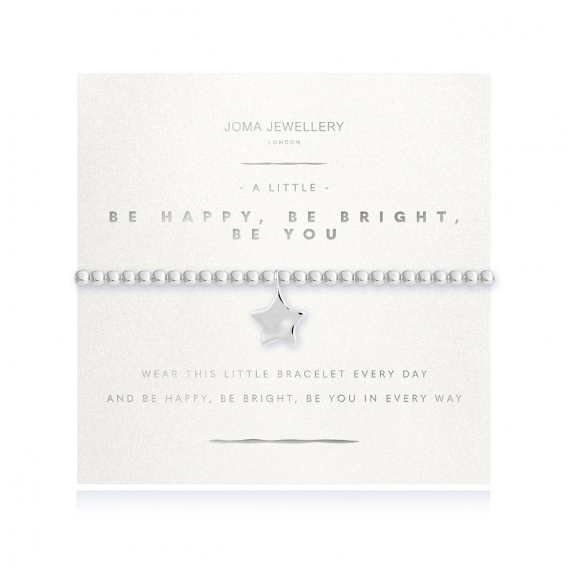 Joma  Be Happy Be Bright Be You Bracelet