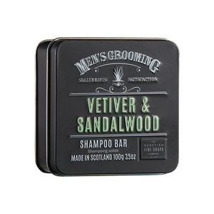 Scottish Fine Soaps Vetiver & Sandalwood Shampoo Bar