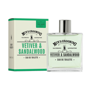 Scottish Fine Soaps Vetiver & Sandalwood Eu De Toilette 100ml
