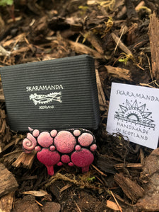 SKARAMANDA BROOCH Bobble Sheep