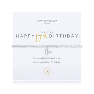 JOMA JEWELLERY - Happy 17th Birthday Bracelet