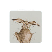 Load image into Gallery viewer, Wrendale Hare Brained Compact Mirror