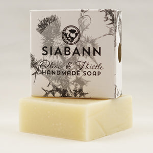 Siabann Olive & Thistle Soap Bar 85g