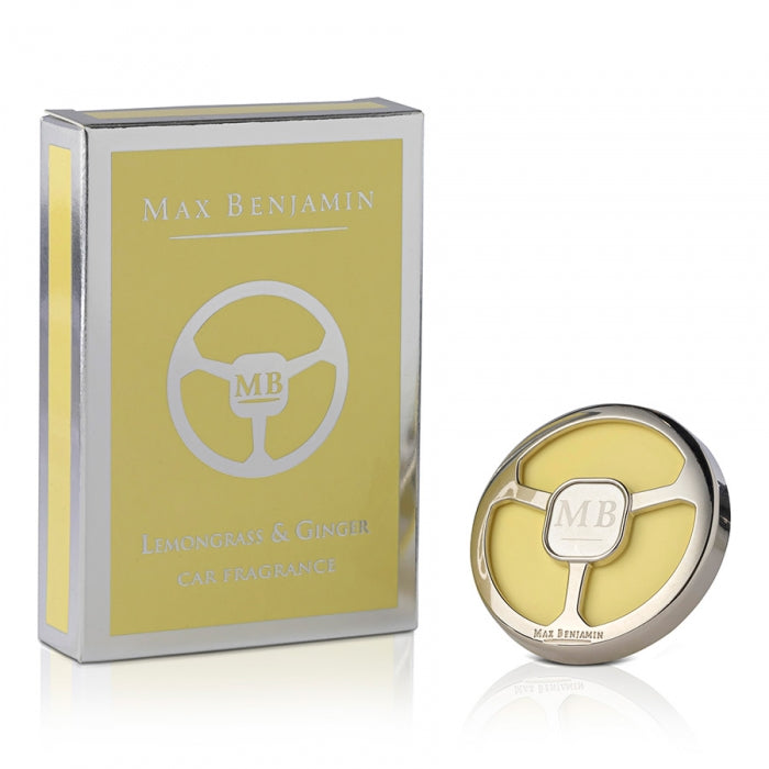 Max Benjamin Lemongrass & Ginger Luxury Car Fragrance