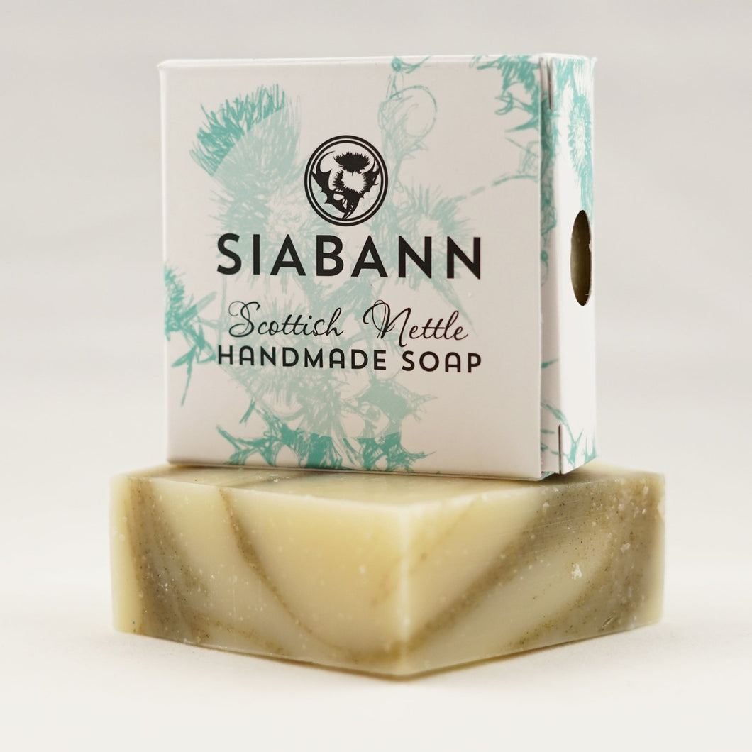 Siabann Scottish Nettle Soap Bar 85g