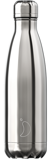 Chillys Silver Chrome 500ml bottle