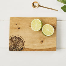Load image into Gallery viewer, Just Slate Oak Citrus Chopping Board 19cm